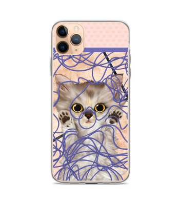 Cat pets furry animal funny phone cover christmas gift feline friendship kitty cutie Phone Case