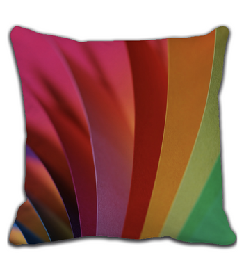 Throw Pillow Creative colors IV