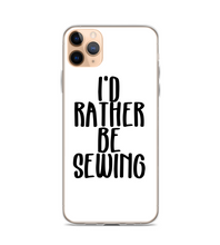 Id Rather Be Sewing Print Pattern Phone Case