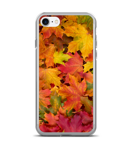 Fall Color Leaves Print Pattern Phone Case