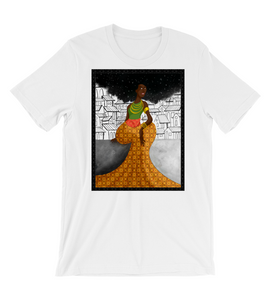 T-Shirt Muse on the wall afro africa black power ethnic black woman