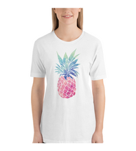 T-Shirt  Pineapple Tropical Customizable Personalized Gift For Her Gift For Him Farmers Market