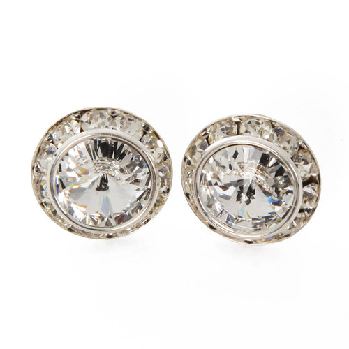 Dance earrings 12mm pierced style with jacket