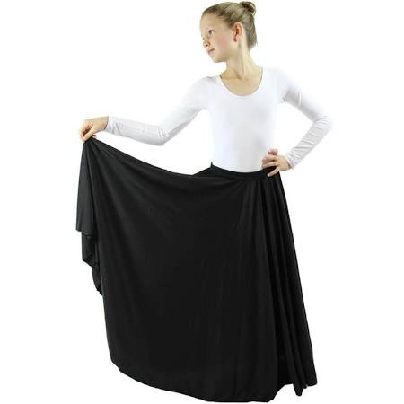 Liturgical Praise Dance Circle skirt in Girls, Ladies and Plus