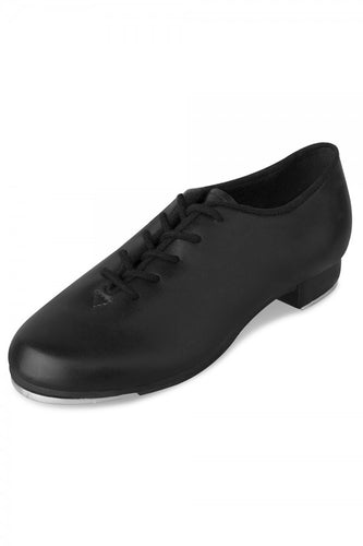 Dance Jazz Tap Lace Up Girls and Ladies Black