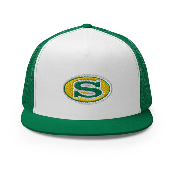 Summerville Green Wave Trucker Cap