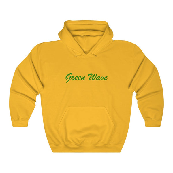 Green Wave Unisex Heavy Blend™ Hooded Sweatshirt