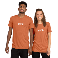 I Will Short sleeve t-shirt