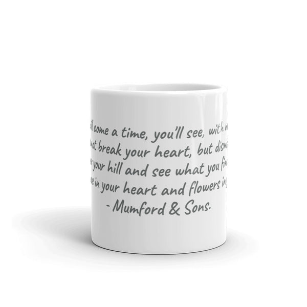 Flowers in Your Hair Mug