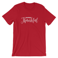Super Thankful Short-Sleeve Unisex T-Shirt