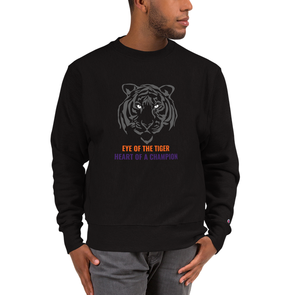 Eye of the Tiger Champion Sweatshirt