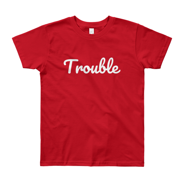 Trouble Youth Short Sleeve T-Shirt