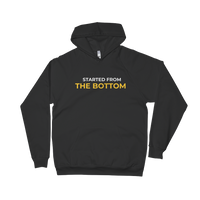 Started From The Bottom Unisex Fleece Hoodie