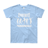 Fortnite Squadgoals Youth Short Sleeve T-Shirt