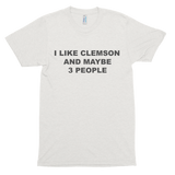 I Like Clemson Short sleeve soft t-shirt