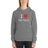 I Heart The 'Ville Unisex hoodie
