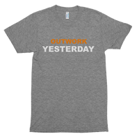 Outwork Yesterday - Short sleeve soft t-shirt