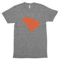 SC Orange Map Short sleeve soft t-shirt