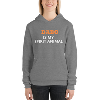 Dabo is My Spirit Animal Unisex hoodie