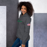 Summerville Green Wave Track & Field Unisex Hoodie