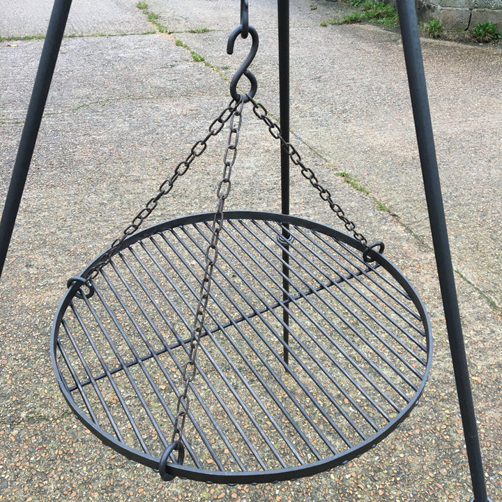 Large Rimmed Hanging Grill