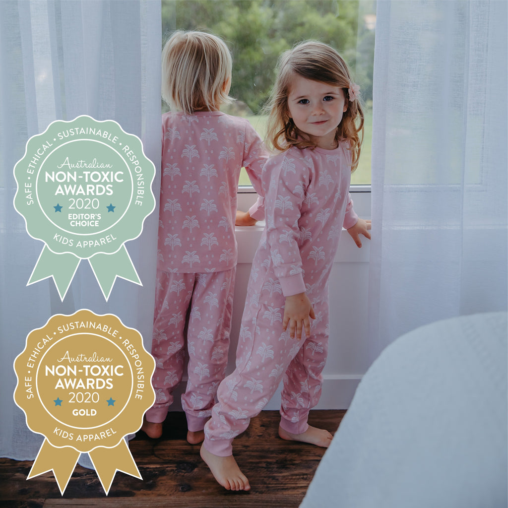 Winning the Australian Non-Toxic Awards With Our Certified Organic Kids' Sleepwear