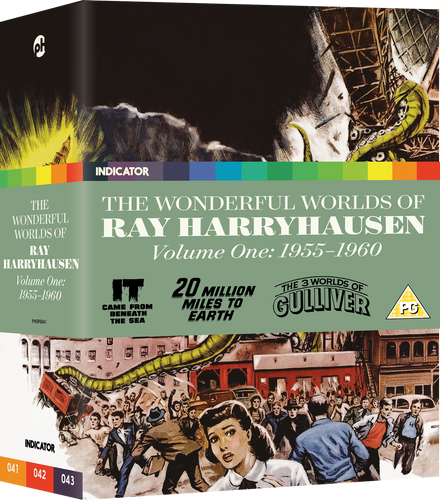 THE WONDERFUL WORLDS OF RAY HARRYHAUSEN, VOLUME ONE: 1955-1960 - LE