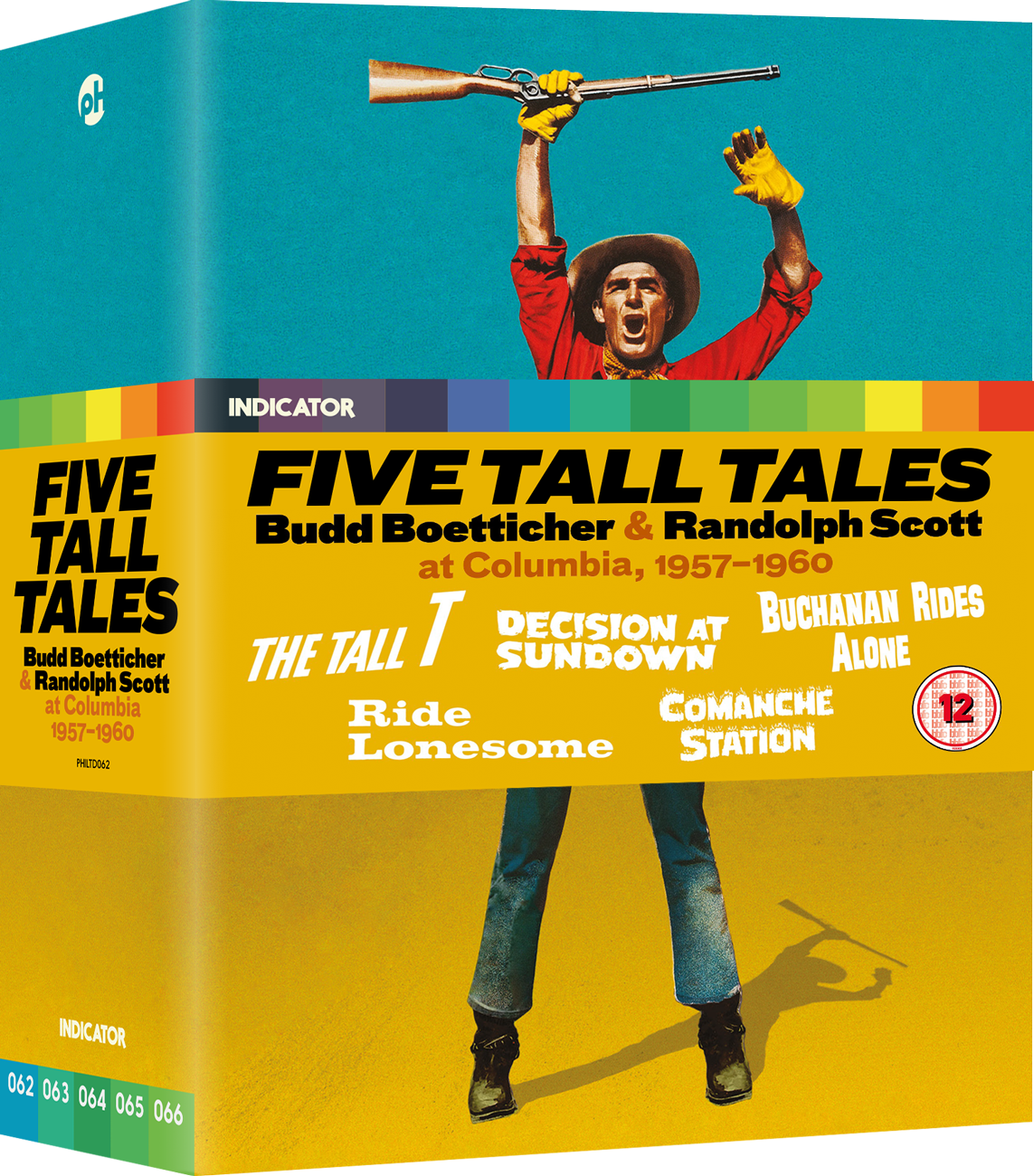 FIVE TALL TALES: Budd Boetticher & Randolph Scott at Columbia, 1957-1960 - LE