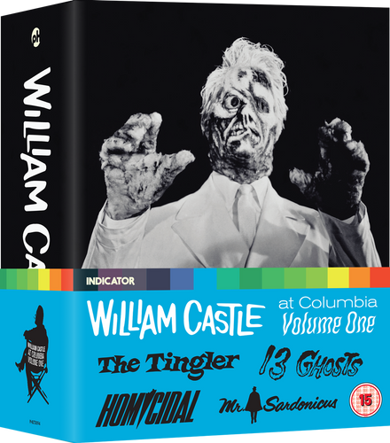 WILLIAM CASTLE AT COLUMBIA, VOLUME ONE - LE