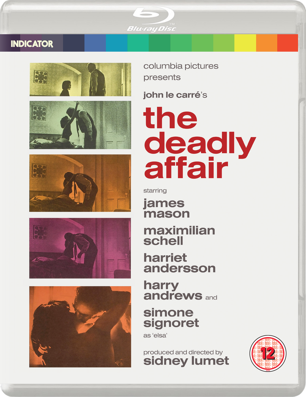 THE DEADLY AFFAIR - BD