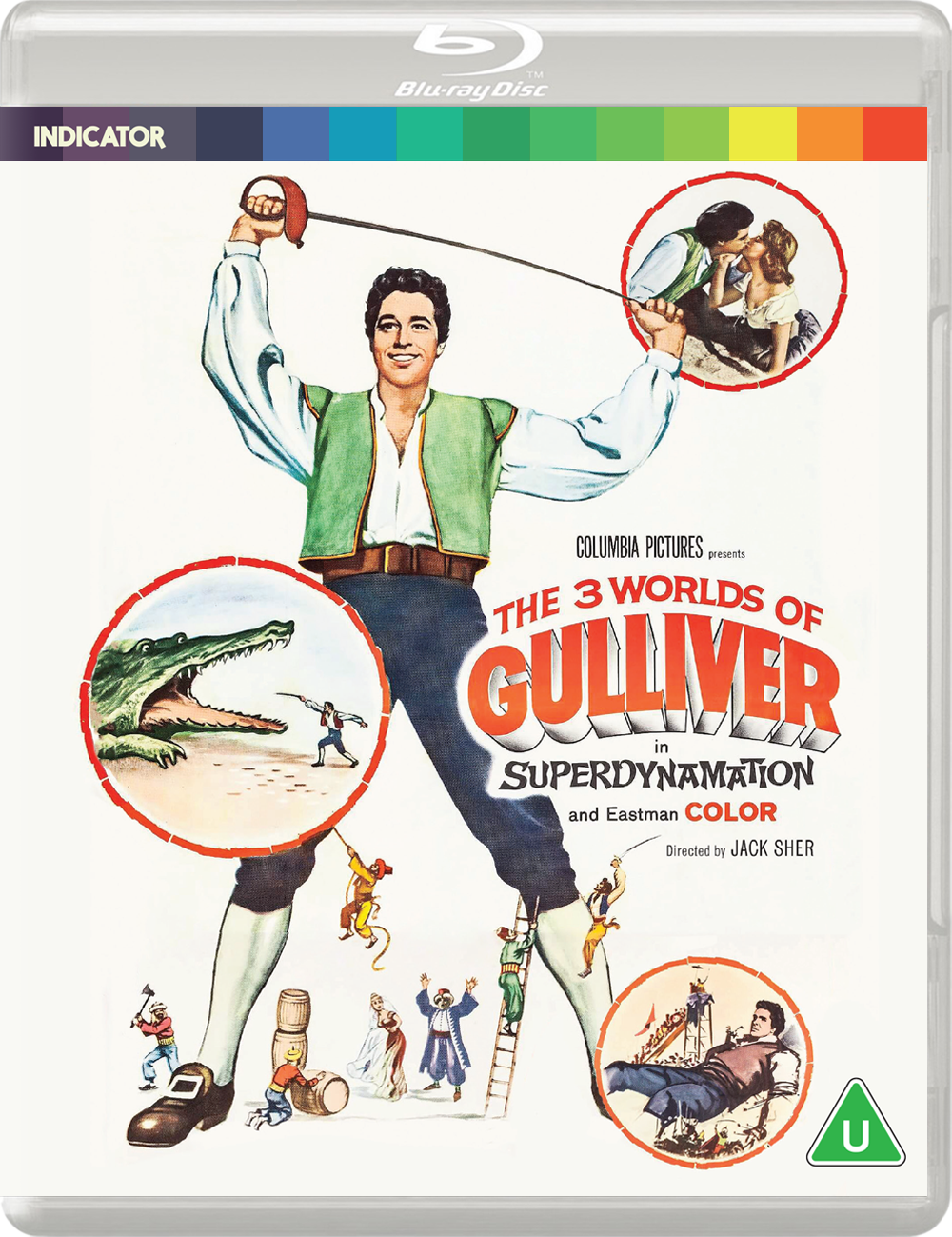 THE 3 WORLDS OF GULLIVER - BD