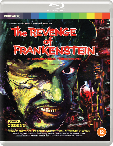 THE REVENGE OF FRANKENSTEIN - BD