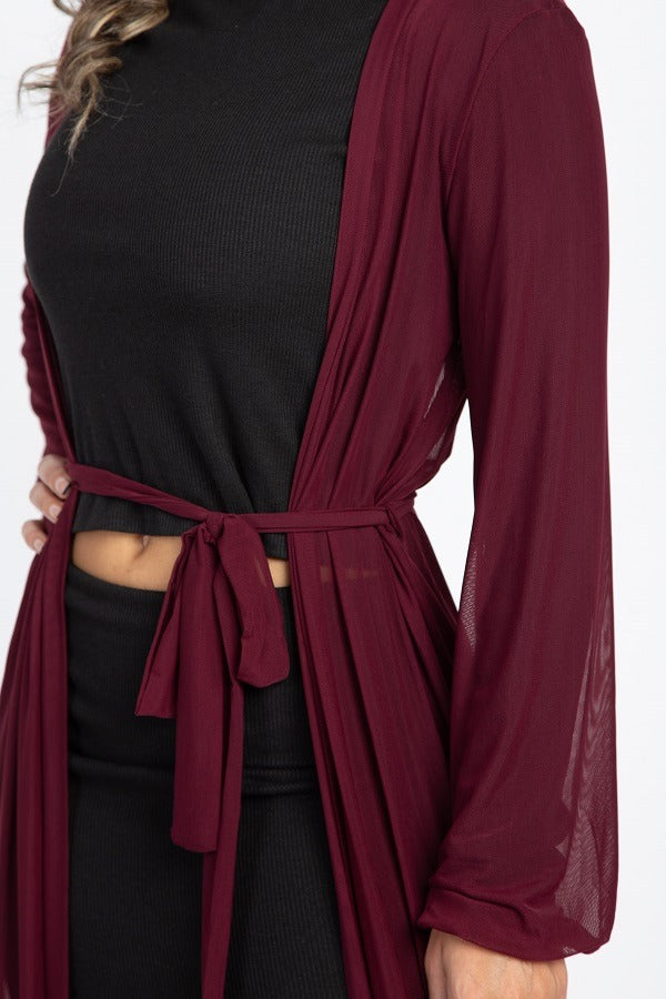 The Selena | Open Front Cardigan