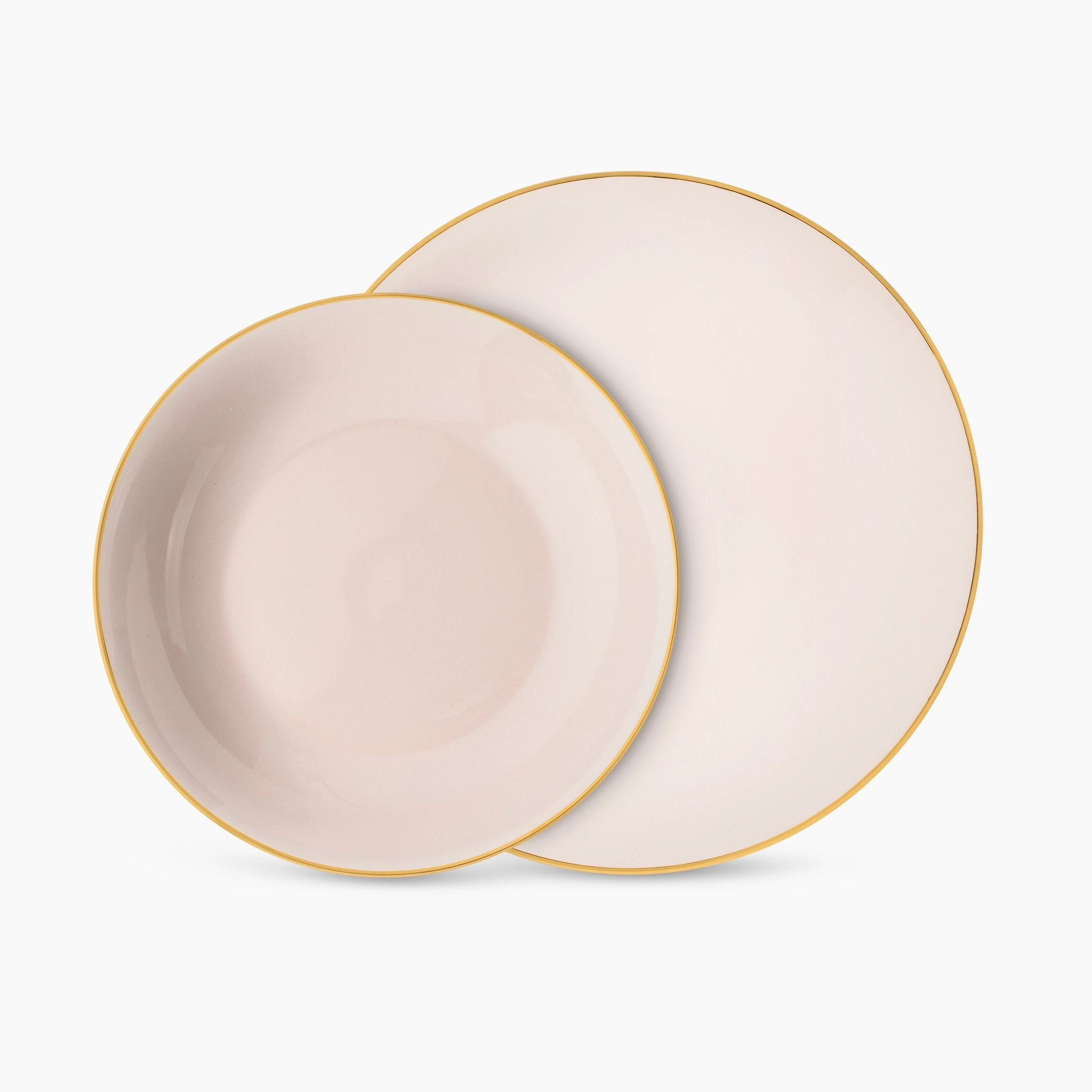 Gold Rim Dinnerware Set