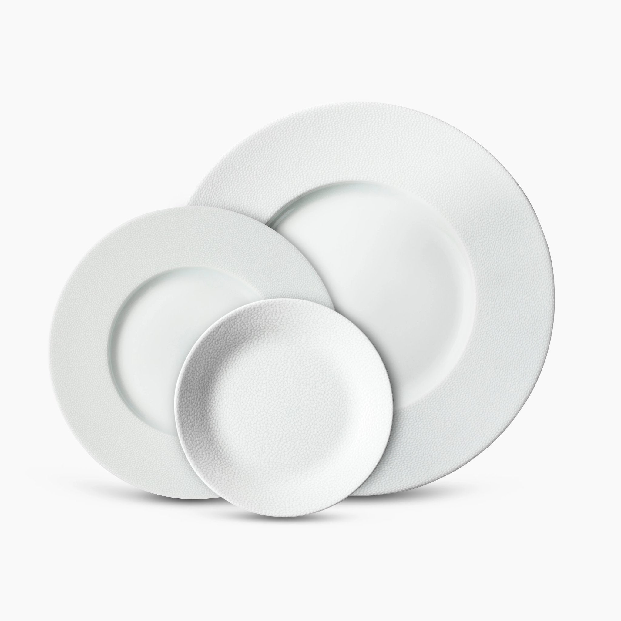 Pebbled Dinnerware Set