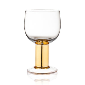 Club Gold All Purpose Glass S/2