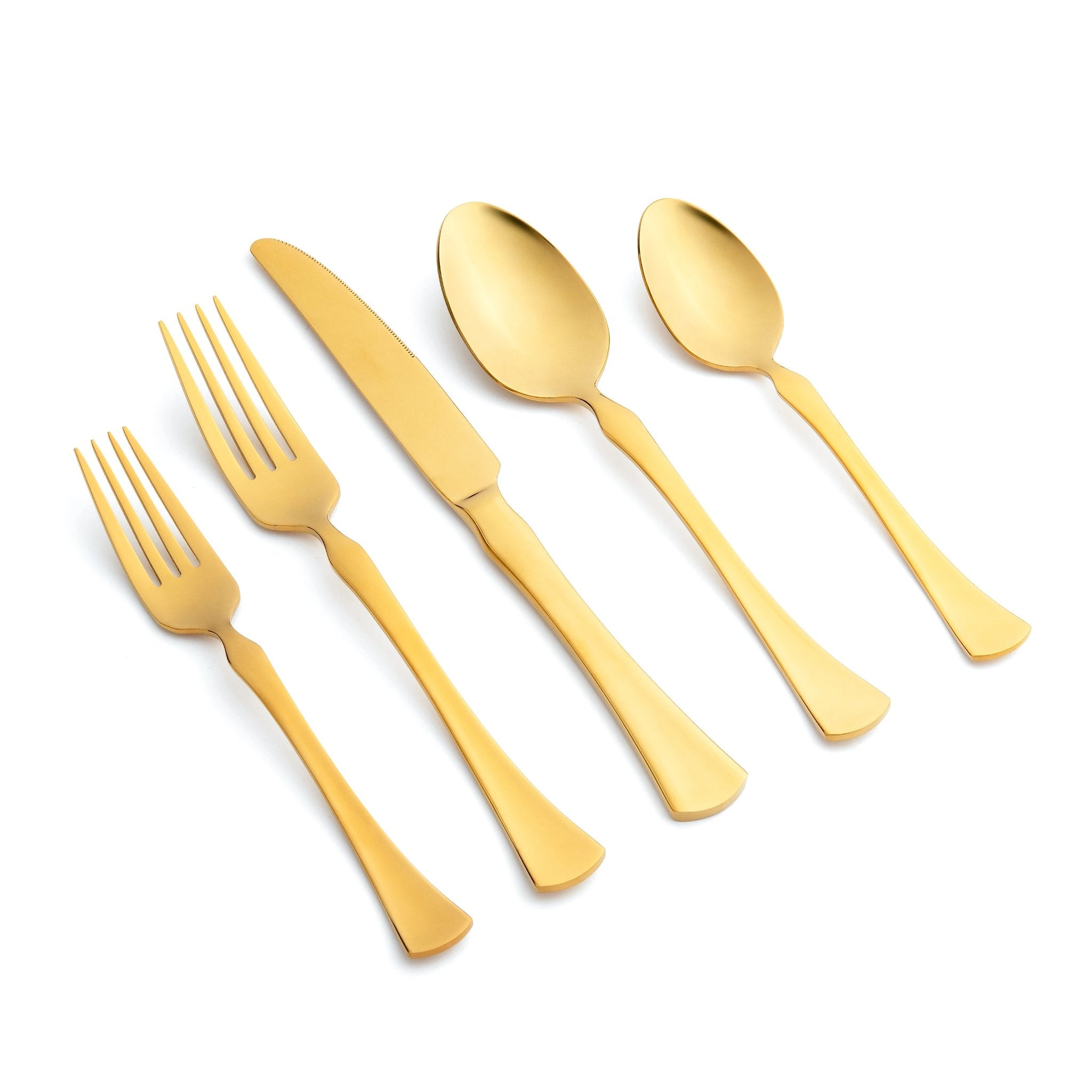Refined Gold 5pc Place Setting