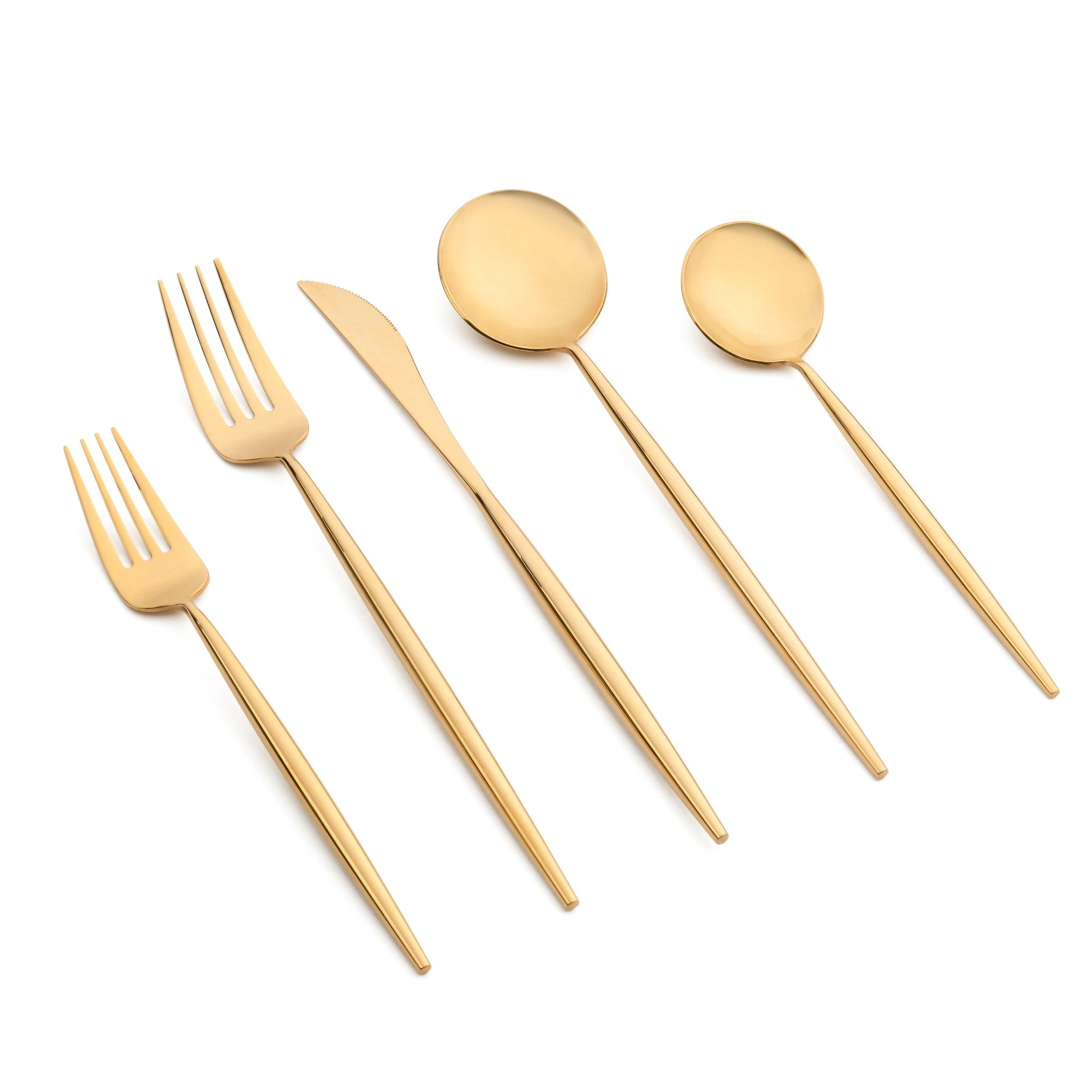 Emma Gloss 20pc Flatware Set