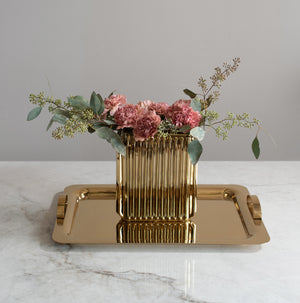 Gold Metal Tray