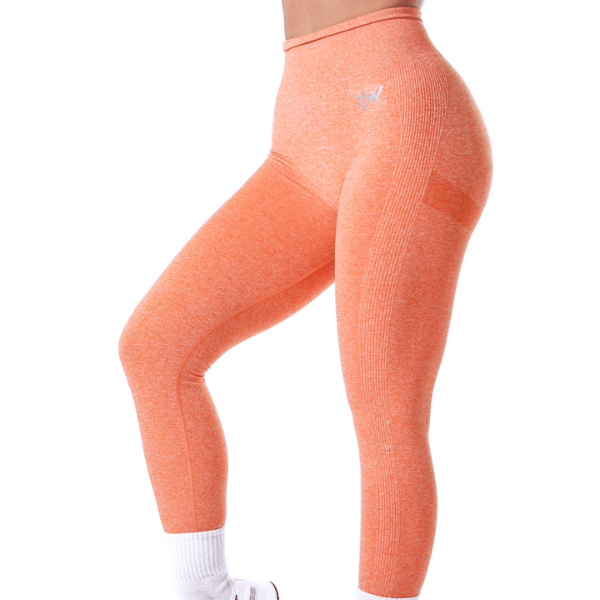 RapidWear - Vision Seamless Leggings (Orange)