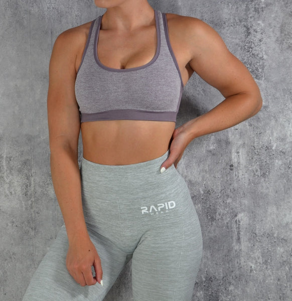 RapidWear - Empower Sports Bra (Lilla)