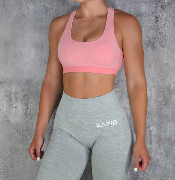 RapidWear - Empower Sports Bra (Pink)