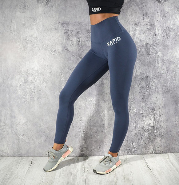 RapidWear - High Impact Leggings (Navy Blå)