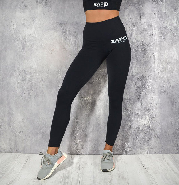 RapidWear - High Impact Leggings (Sort)
