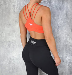 RapidWear - Knockout Sports Bra (Orange)