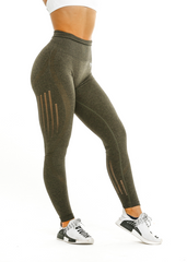 RapidWear - Seamless Shape Leggings (Khaki)