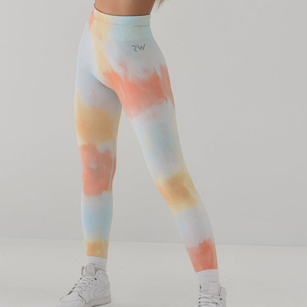 RapidWear - Tie Dye Seamless Leggings (Tropical)
