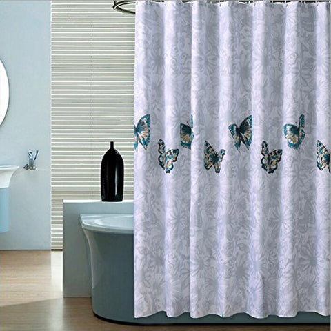 The Curtain And Liner Should Trace Completely Around Outside Inside Of Tub Respectively