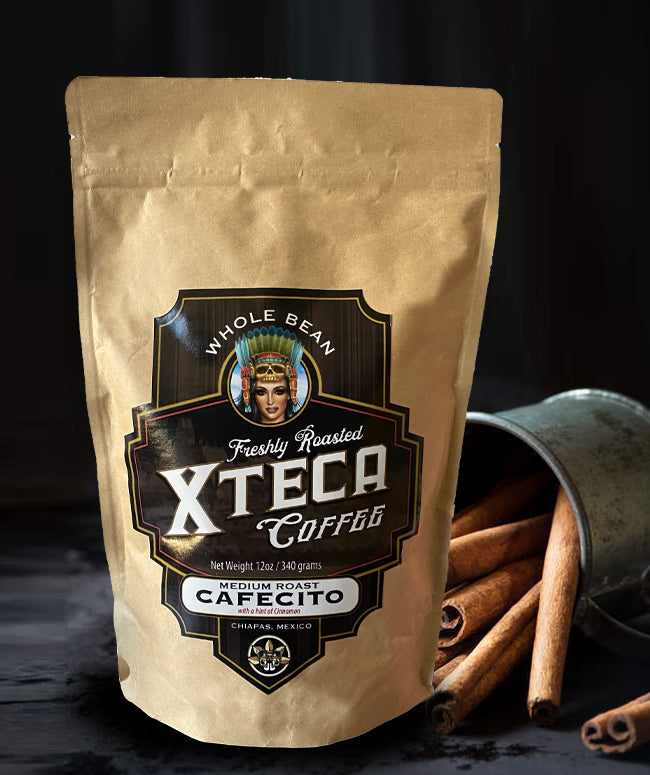 XTECA COFFEE - Limited Edition Whole Bean Roasted with a hint of cinnamon