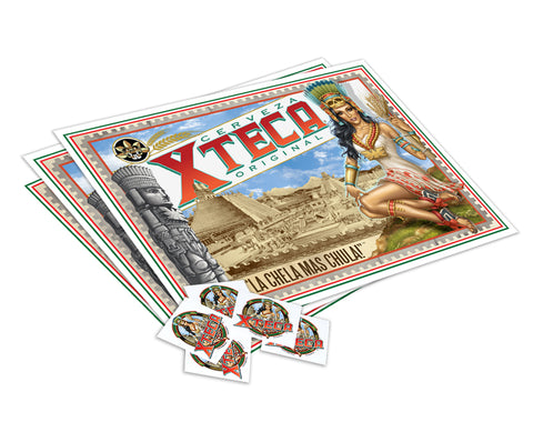 Xteca® Poster with Stickers